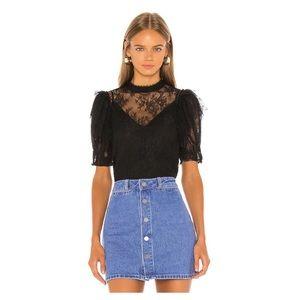 Free people secret admirer blouse